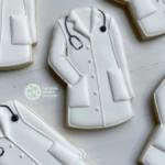 White Coat cookies pic